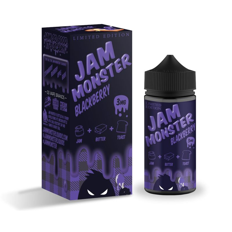 Жидкость Jam Monster - Blackberry (100 мл)