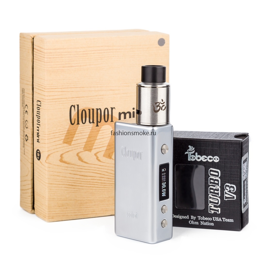 Бокс мод Smok Cloupor mini 30 W + дрипка Tobeco Turbo V3