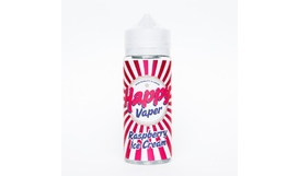 Жидкость Happy Vaper - RASPBERRY ICE CREAM (120 мл / 3 мг)