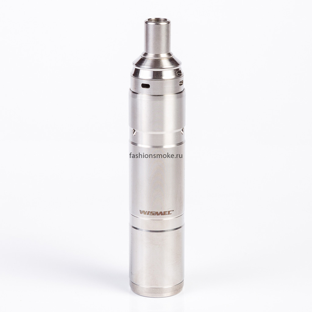 Мех мод WISMEC el grande 18350/18650 Kit with RDA Atomizer(Сталь)